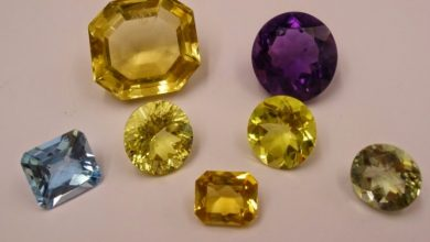 Photo of  Features of gemstones