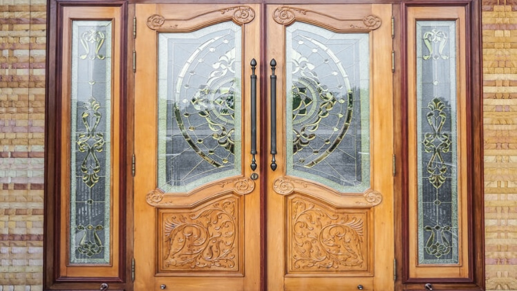 Install Frosted Glass Door At Your Entrance