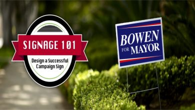 Photo of Make compelling political yard signs with these time-tested and viable design ideas