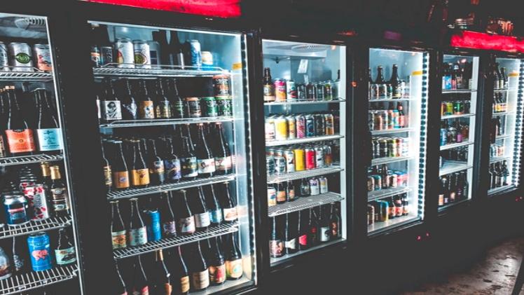 Vast variety of energy drinks