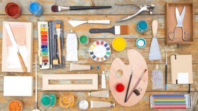 Photo of 10 Basic Arts and Crafts Supplies You Must Always Have
