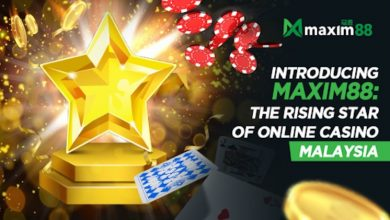 Photo of Introducing Maxim88, The Rising Star of Online Casino Malaysia
