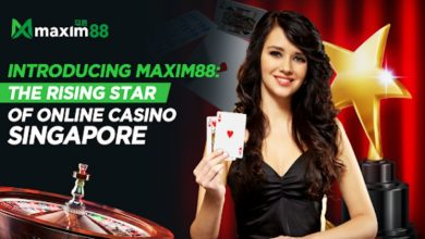 Photo of Introducing Maxim88 the Rising Star of Online Casino Singapore