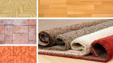 Photo of Different types of flooring materials