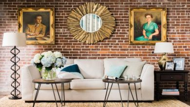 Photo of 4 Stylish Ways to Decorate the Space Above Your Couch