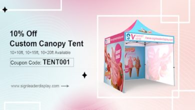 Photo of Custom Canopy Tents in a Variety of Designs